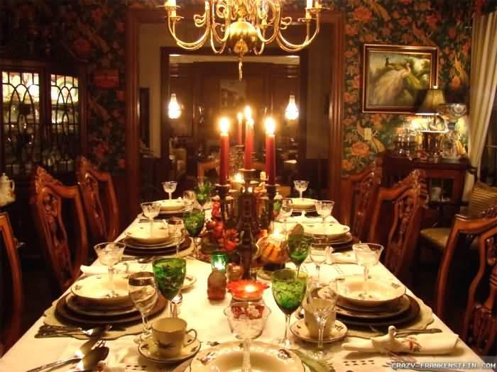 Decorating Inside Christmas Home