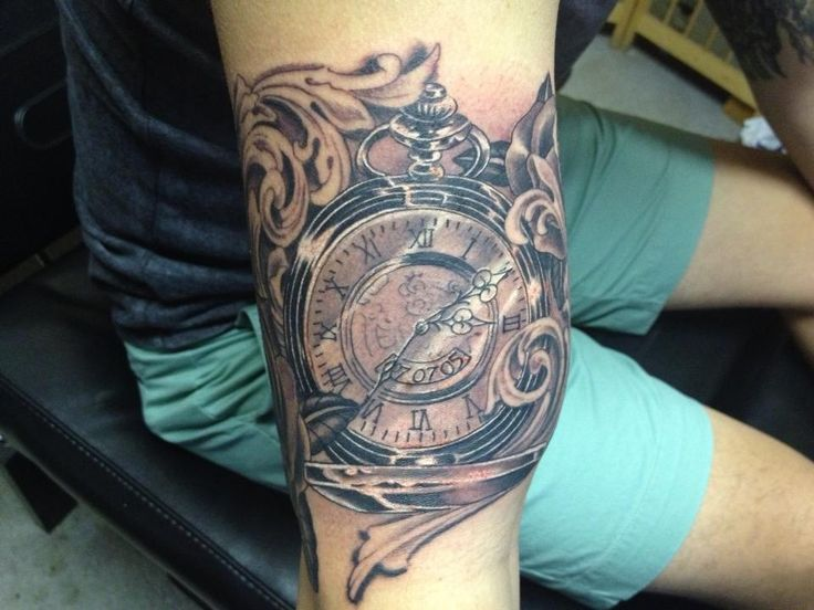 10 Amazing Clock Tattoos On Forearm
