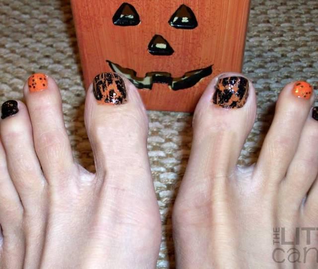 Best Halloween Toe Nail Art Designs