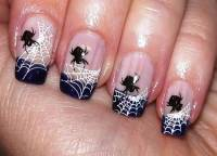 halloween french tip nail designs