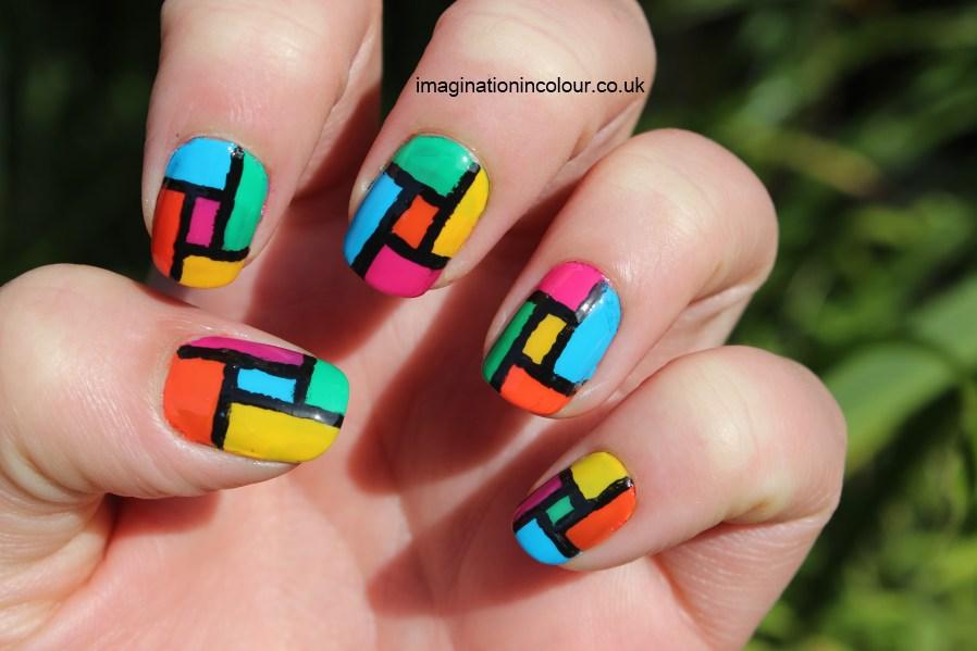 50 Latest Multicolor Nail Art Designs Pokemon Nails