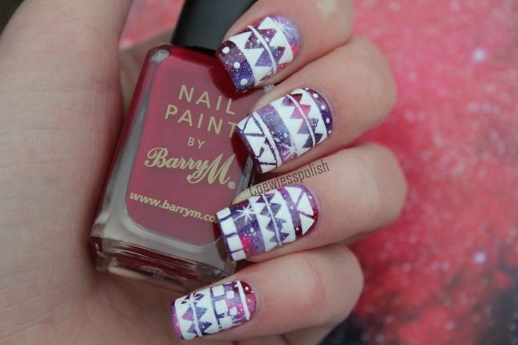 Amazing Nail Art Design Idea For Winter