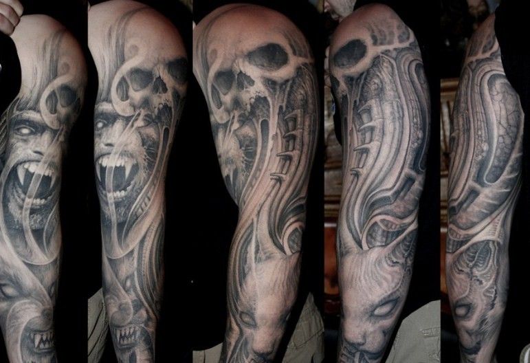 Paul Booth Horror Tattoos
