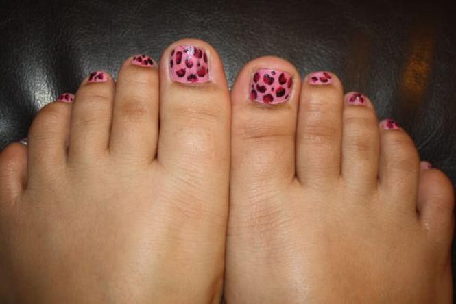 Cute Toe Nail Art 11