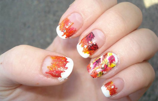 30 Autumn Tree Leaf Nail Art Designs Ideas Trends Stickers 2016 Fall Nails Shue