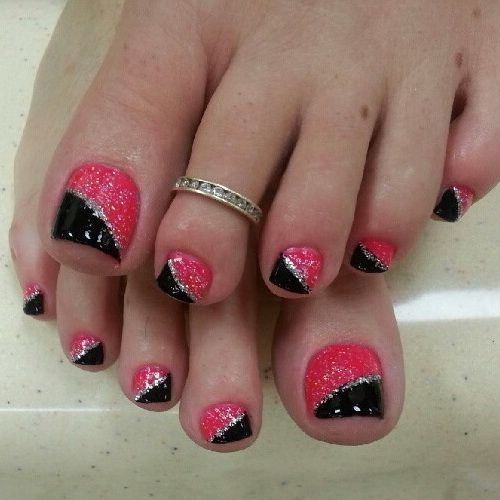 Glitter Nail Art View Images Best Toe