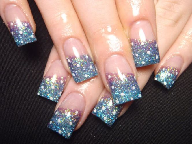 Nail Art Designs Sparkle Image Collections 55 Best Glitter Design Ideas