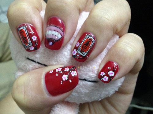 Chinese New Year Nail Art Best