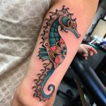 60 Sea Creature Sea Horse Tattoo Designs And Pictures