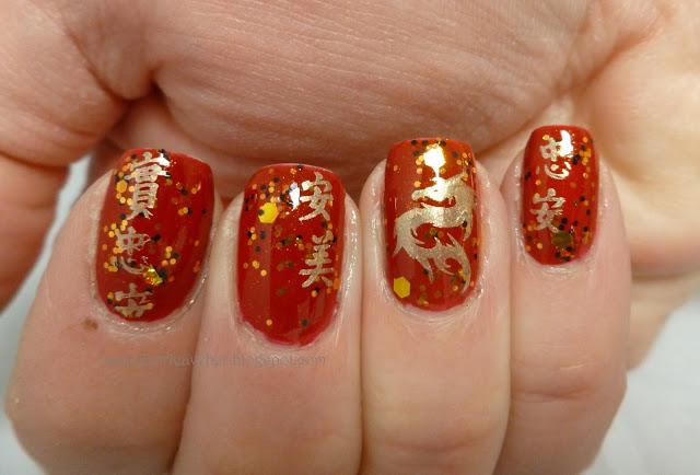 Amazing Chinese New Year Nail Art Designs Ideas