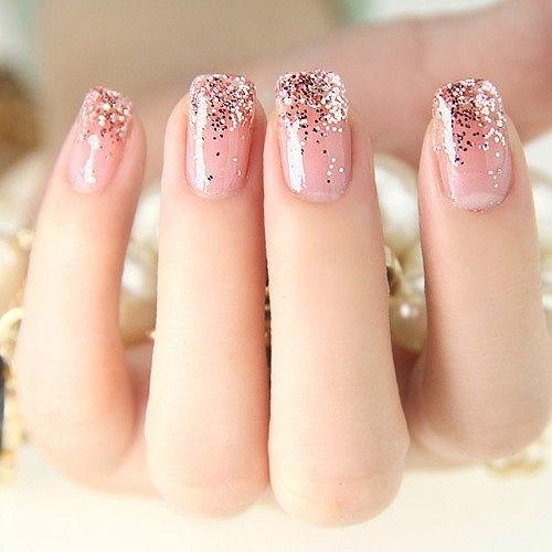 Glitter Grant Nail Art