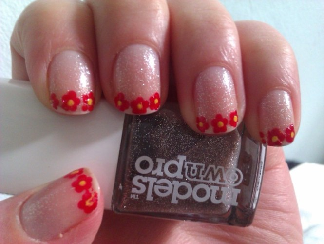 Nail Design Ideas Red Color Easy Polish