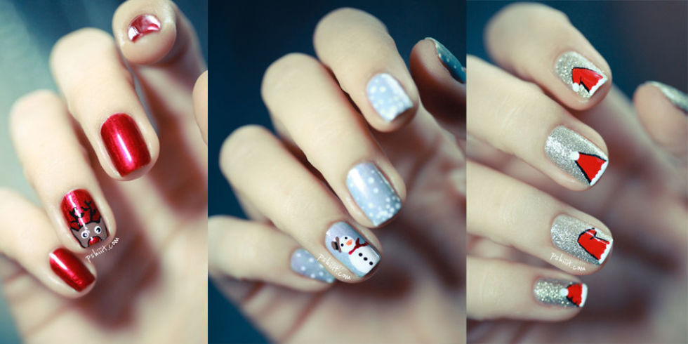 50 Christmas Nail Art Ideas