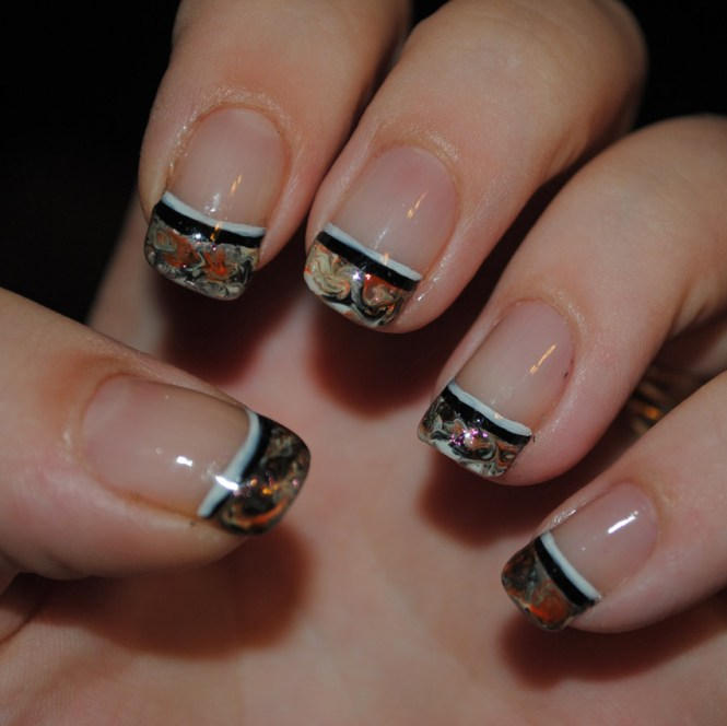 Wow We Hope You Like This Design As Much Do Very Surreal And Dreamy Short Nails 16