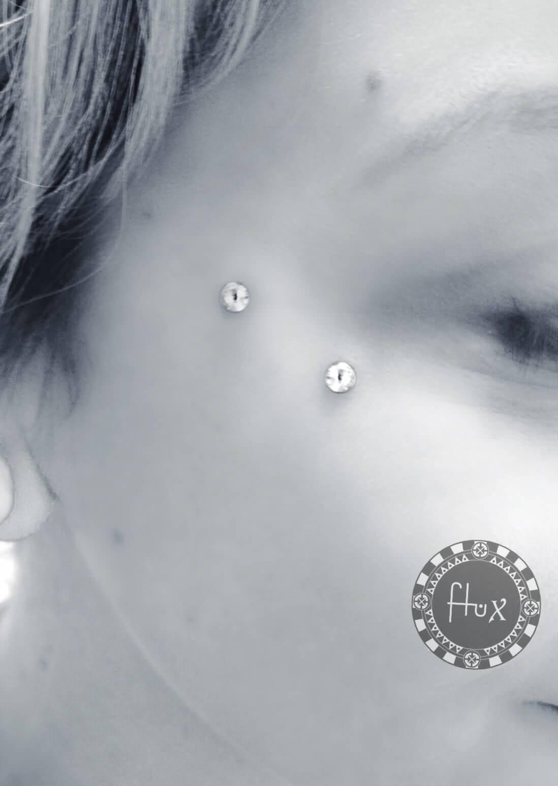 Face Piercing Micro Dermal