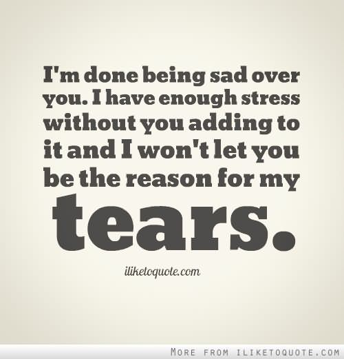 I M Done Quotes