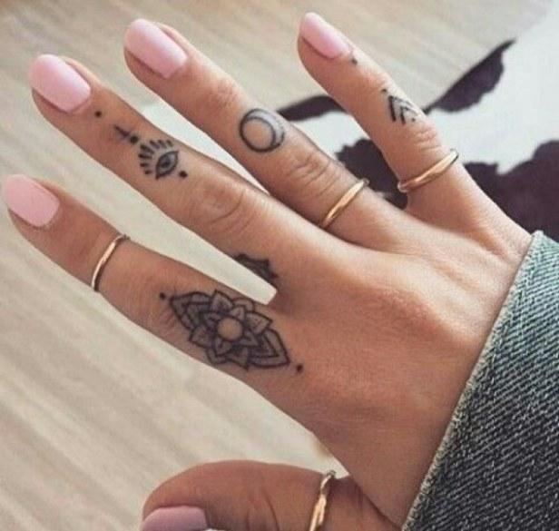 Image result for Best finger Tattoo