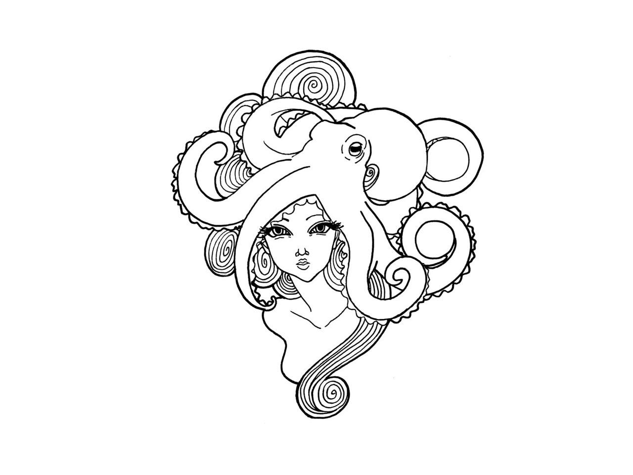 19 Octopus Tattoos Designs