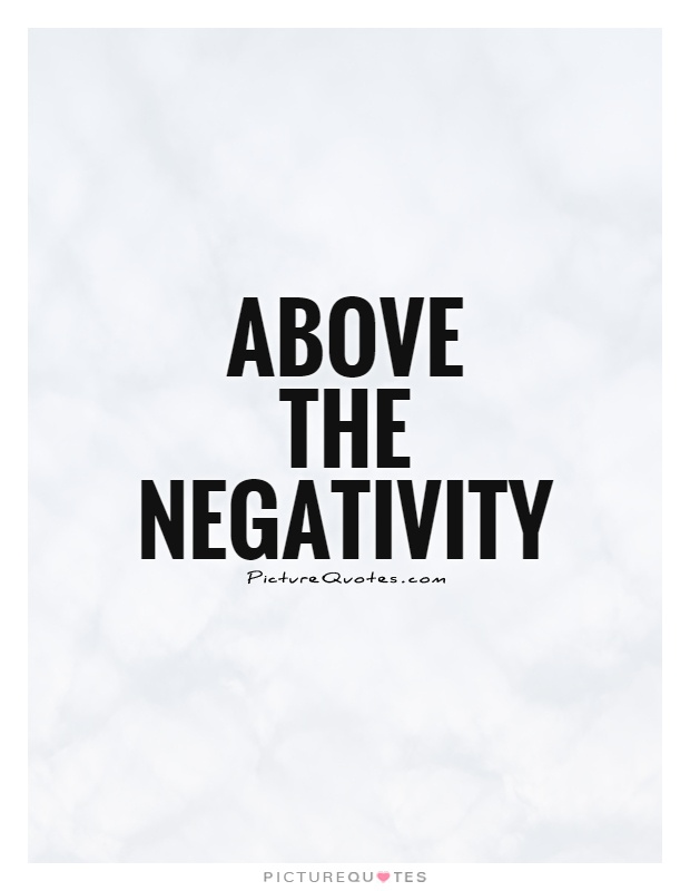 Life People Your Negative Removing Quotes