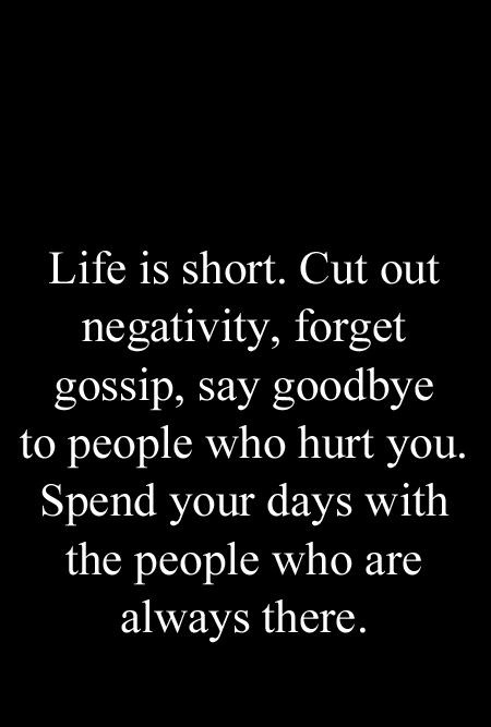 Saying People Who Cut