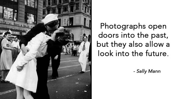 Photographs open doors into the past but they also allow a
