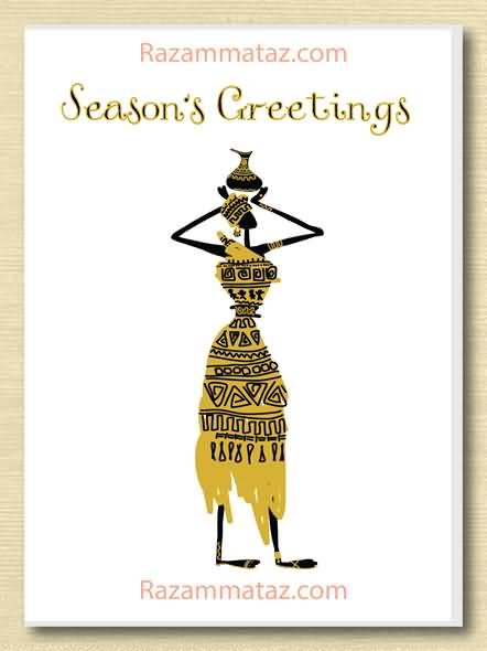 25 Beautiful Seasons Greeting Cards Images