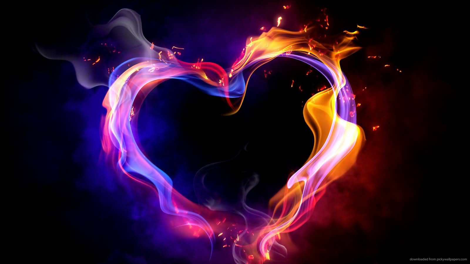 60  Happy Valentine s Day Heart Pictures And Images Amazing Flame Valentine s Day Heart