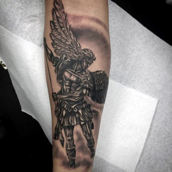 035fee1f0bb2f 20+ Dark Guardian Angels Tattoos Pictures and Ideas on CBTB