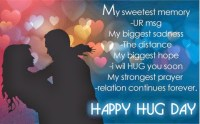 hug day cards for husband
