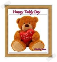 teddy day card