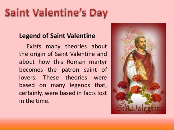 Today VALENTINEamp39s Day history Who was St Valentine Feb