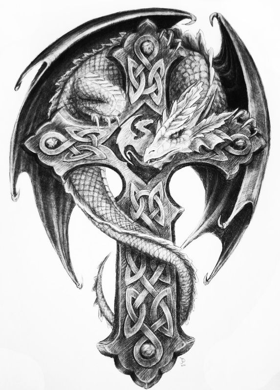 19+ Celtic Dragon Tattoos Pictures And Designs