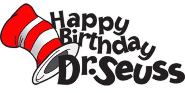 Happy Birthday Dr Seuss Hat Clipart