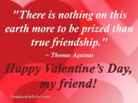 valentine sayings for friends