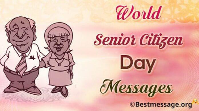 Happy Senior Citizen Day Greeting Card