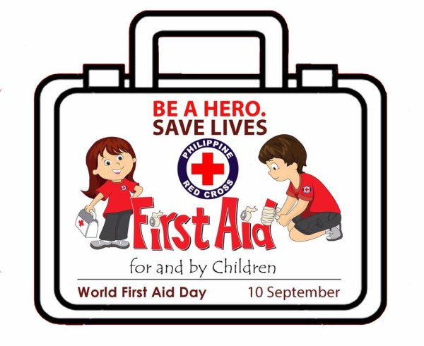 Learn First Aid. Save Lives World First Aid Day Hands And ...
