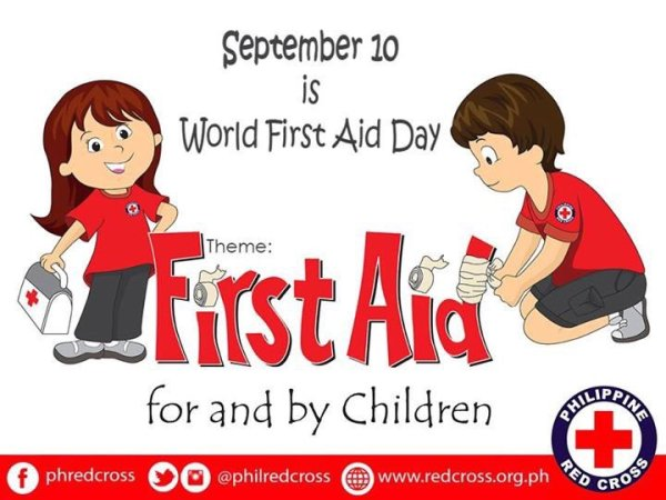 September 10 Is World First Aid Day First Aid For And By ...