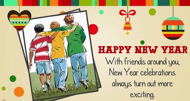 friend happy new year