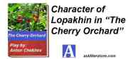 """Character of Lopakhin in """"The Cherry Orchard"""""""
