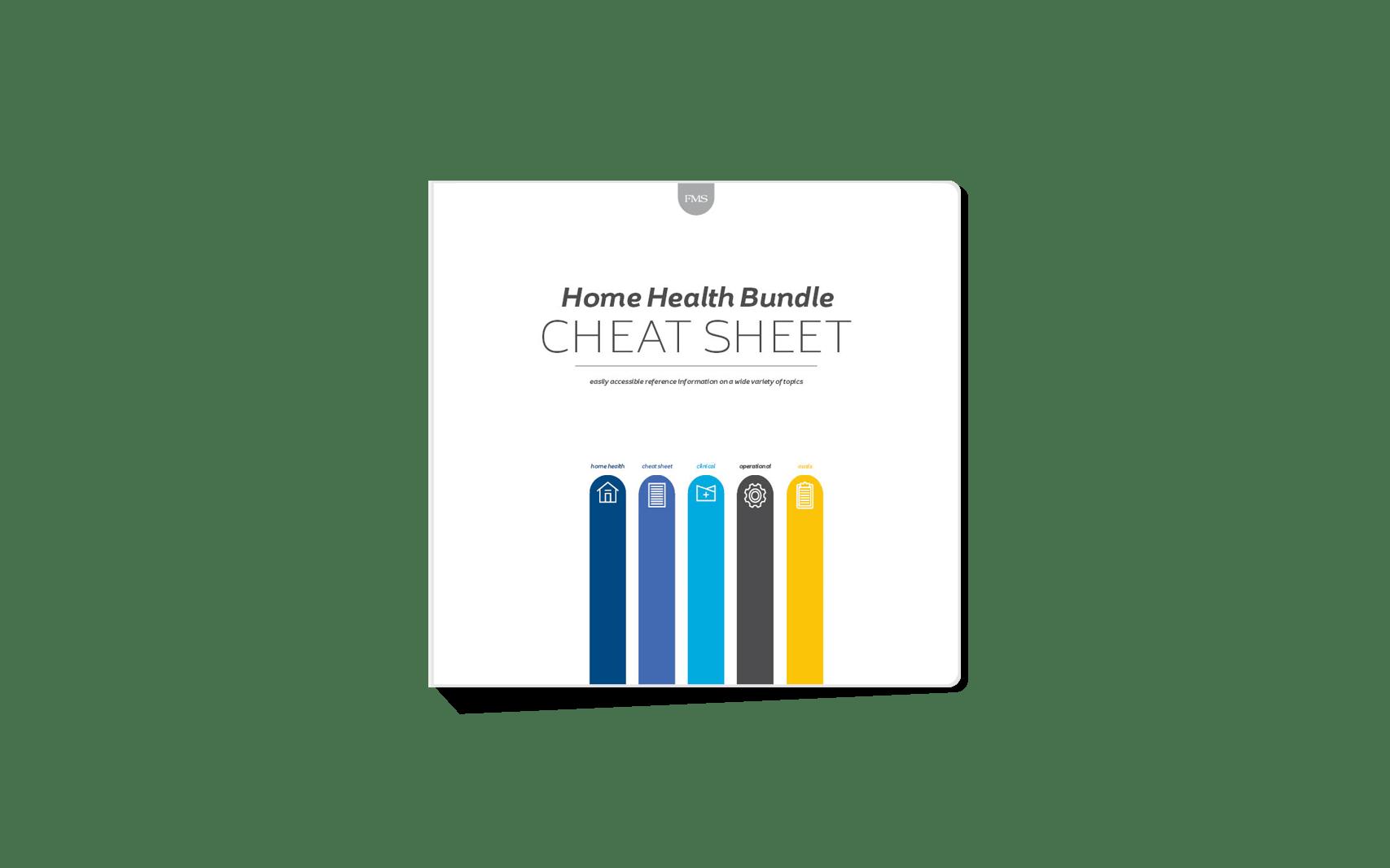 Mac Legacy Formerly Fms Home Health Cheat Sheet Bundle