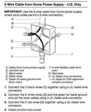 wiring diagram for a stove plug  AskmeDIY