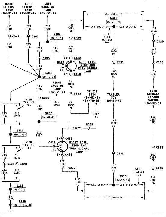 Dodge ram brake light wiring diagram dolgular 1997 dodge ram 1500 i need a wiring diagram for the plug going asfbconference2016 Image collections
