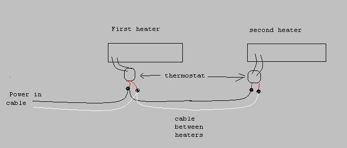 Wiring Diagram For Two Baseboard Heaters To One Thermostat,Diagram ...
