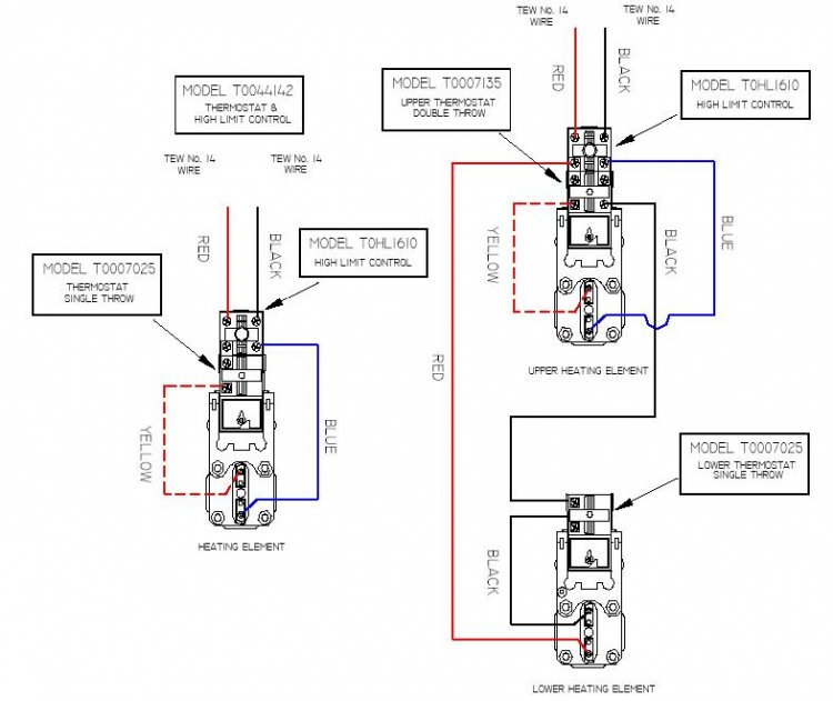 wiring diagram 24a01g 3 240v electric heat relay diagram