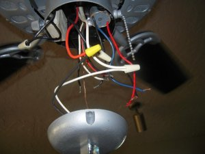 Need wiring for 2capacitor 3wire fan w remote wired control