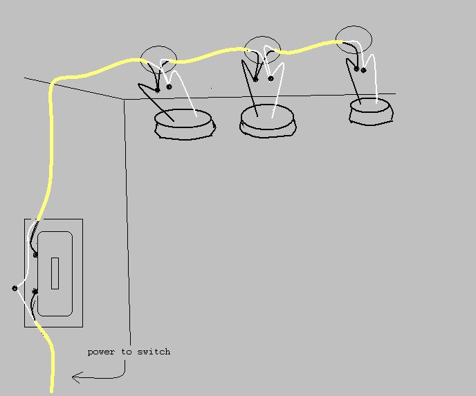 Two Lights One Switch Wiring Diagram on light wiring diagrams multiple lights