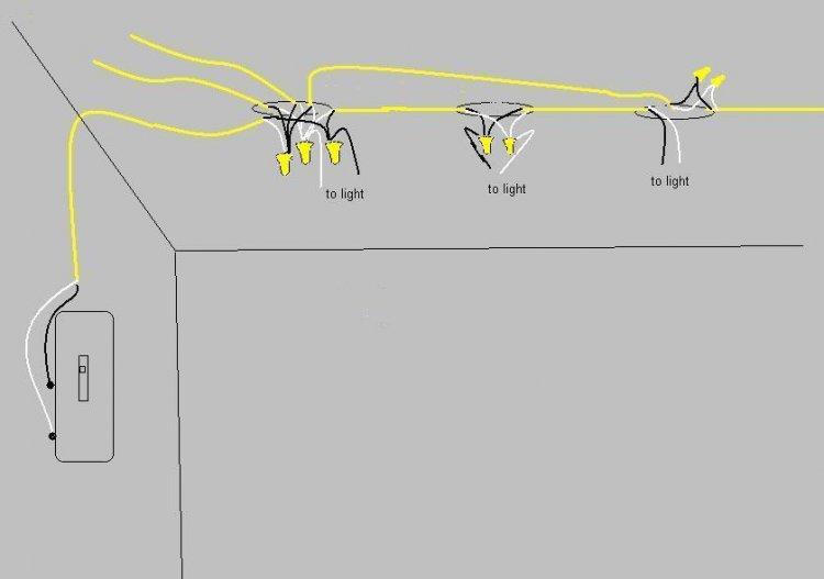 Light Fixture Add To Existing Circuit - Circuit Diagram Symbols •