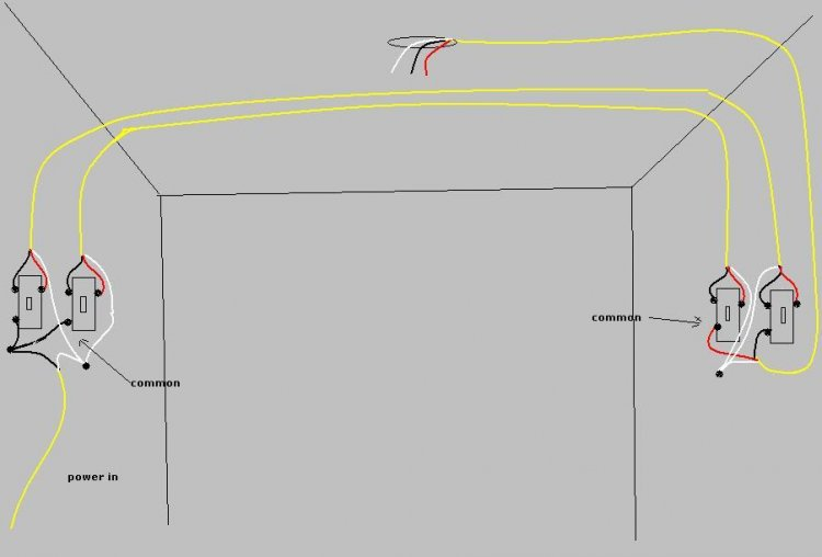 Three Way Wiring Multiple Rooms - Wiring Diagram For Light Switch •