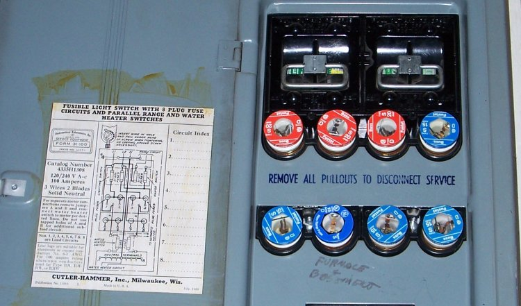 Old Electrical Fuse Boxes