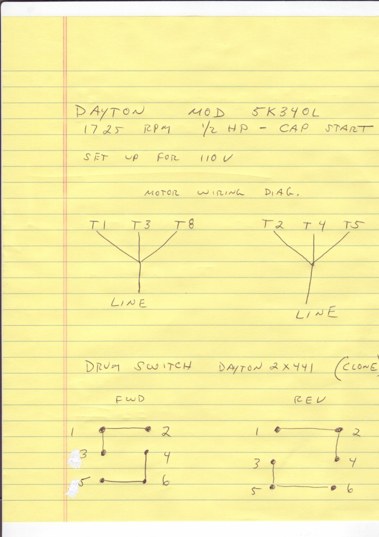 Dayton 2x441 Wiring Diagram 27 Images Drum Switch 120v 41284d1347029569 6 Lead Motor Dr Swtresize6652c942ssl